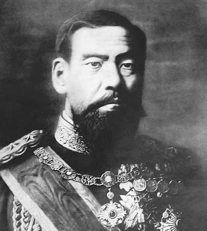Portrait of Emperor Meiji