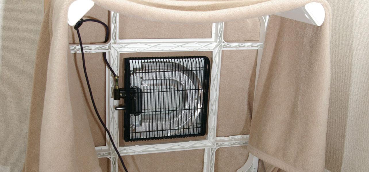 The Kotatsu Frame, heater and blanket