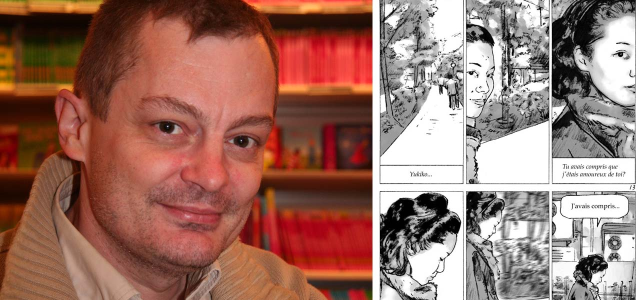 Frédéric Boilet and his Manga