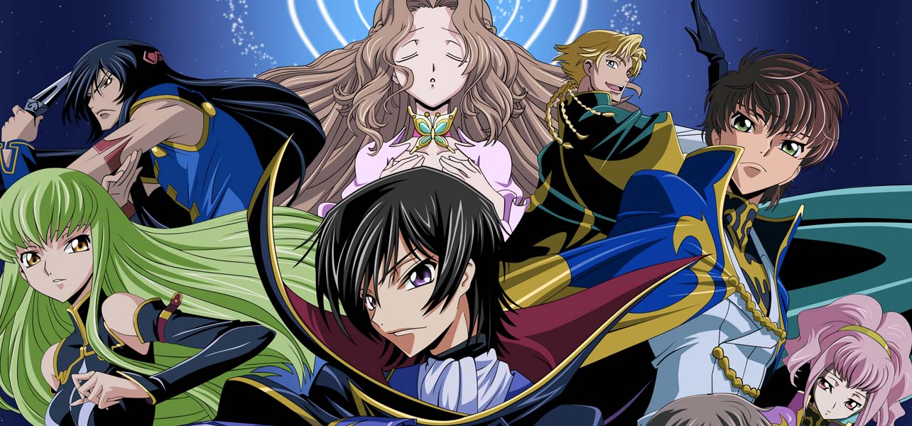 Code Geass is a popular Seinen