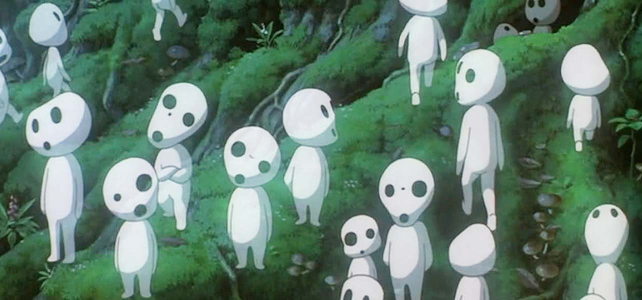 The Kodama from Princess Mononoke