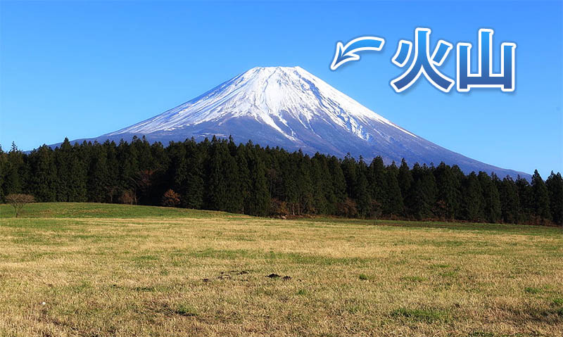 Photograph of Mount Fuji (Volcano)