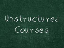 Unstructured Courses