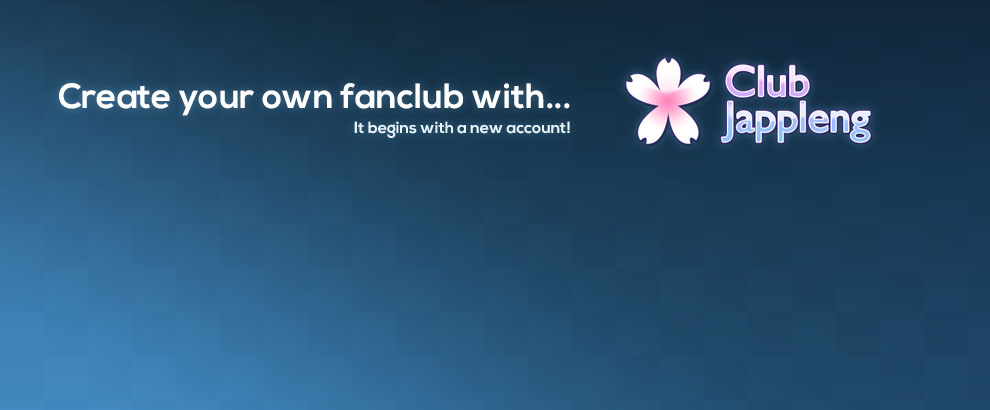 Create a fan club with Club Jappleng