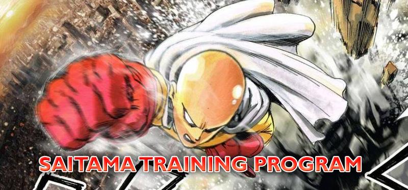 Become a Super Hero with the Saitama Training Program ...