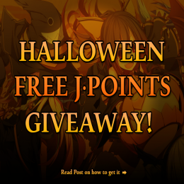 Free JPoints Giveaway! Halloween Exclusive Event