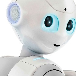 Pepper the Emotional Robot in 2017