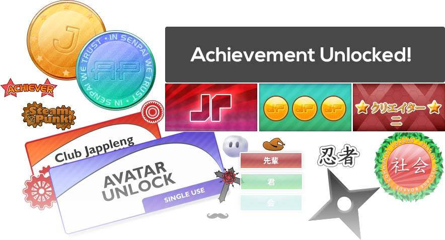 Unlock Achievements, Be the best and Unlock cool stuff