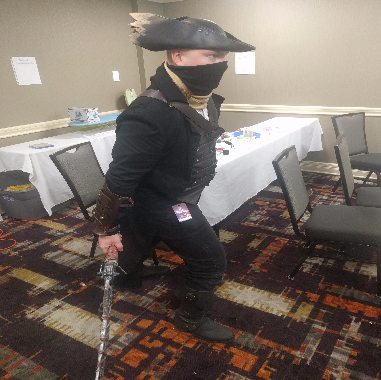 Awesome Bloodborne cosplay, bad angle