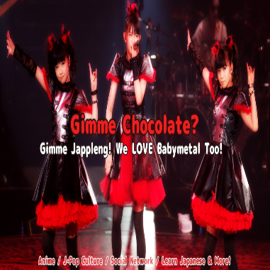 Gimme chocolate babymetal