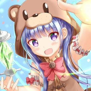 Anime bear girl