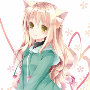 Cute cat girl