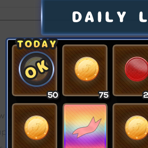 Daily login rewards upda...