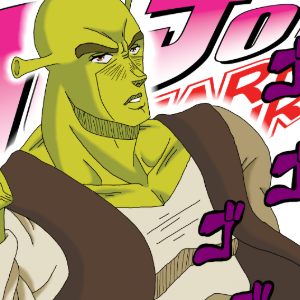 Shrek JoJo Anime
