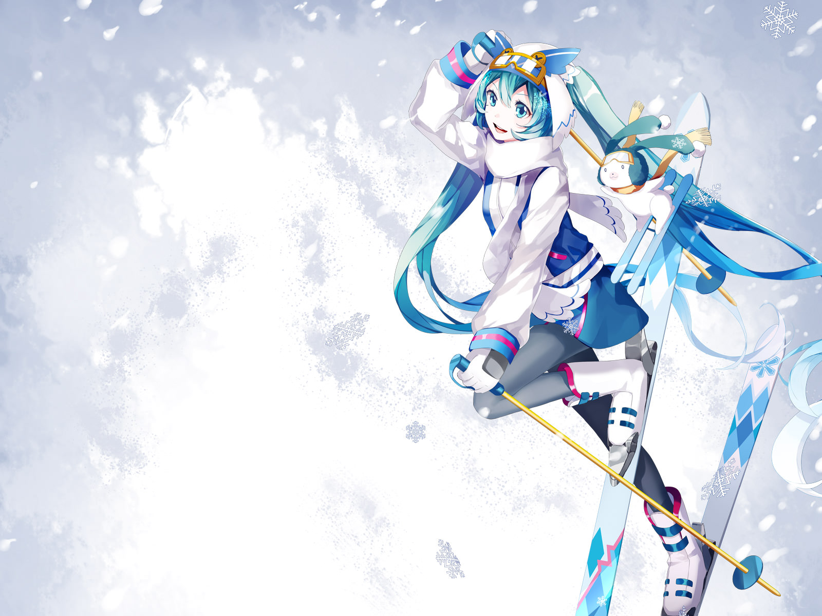 Snow Miku Wallpaper