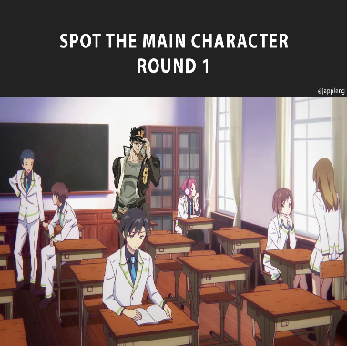 Spot The Main Character: Round 1