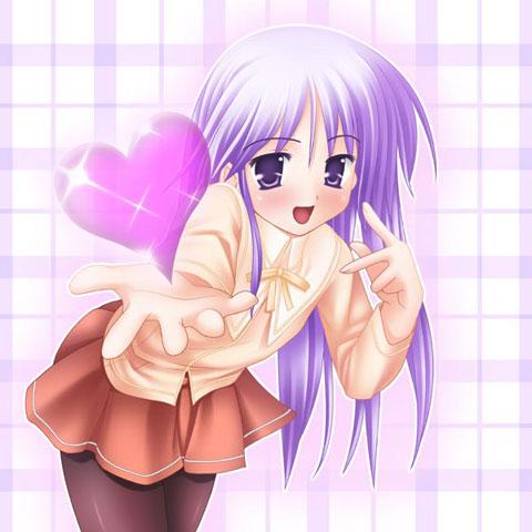 """Résultat de recherche d'images pour """"anime girl heart"""""""